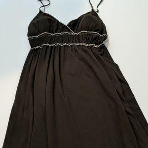 Max Studio large long cotton Brown dress